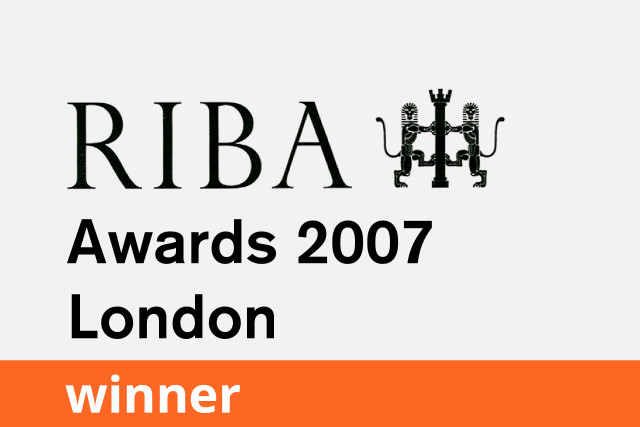 RIBA London Award, Winner 2007