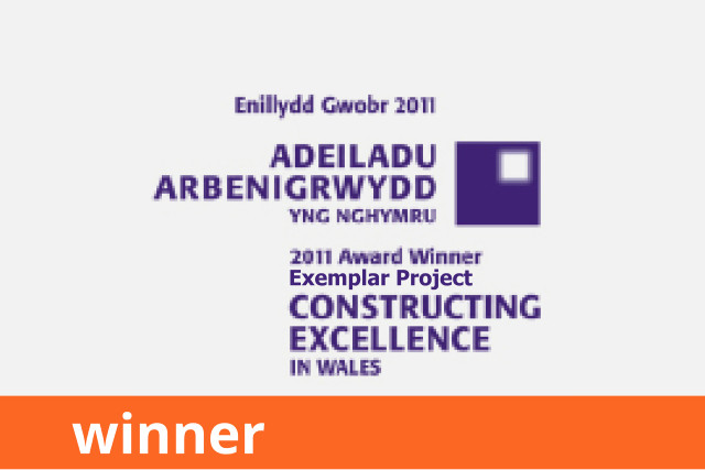 Constructing Excellence Wales, Exemplar Award, Winner 2011